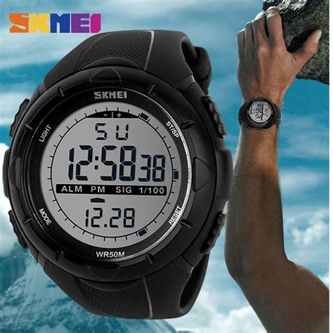Skmei 1025 Digital Led skmei 1025 led digital mens sports