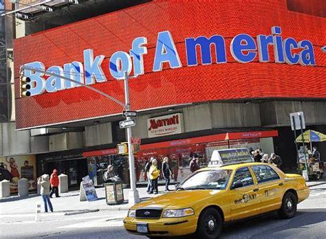 banco of america on line bank of america acusado por eeuu de fraude hipotecario