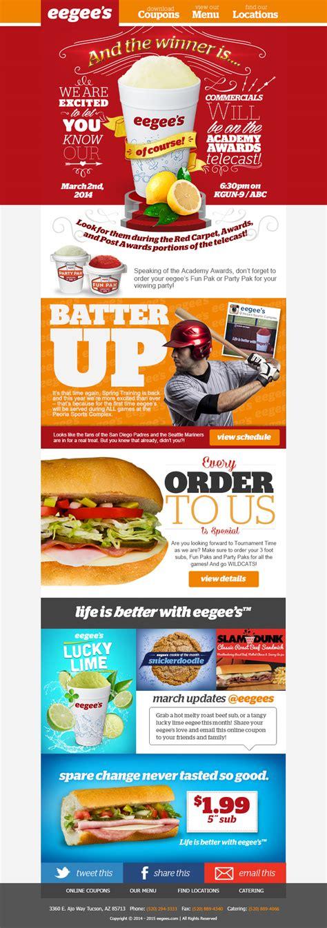 Eegees Gift Card Balance - eegee s march 2014 newsletter