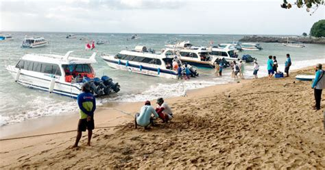 public boat from sanur to nusa lembongan most popular boat location in bali to nusa lembongan island
