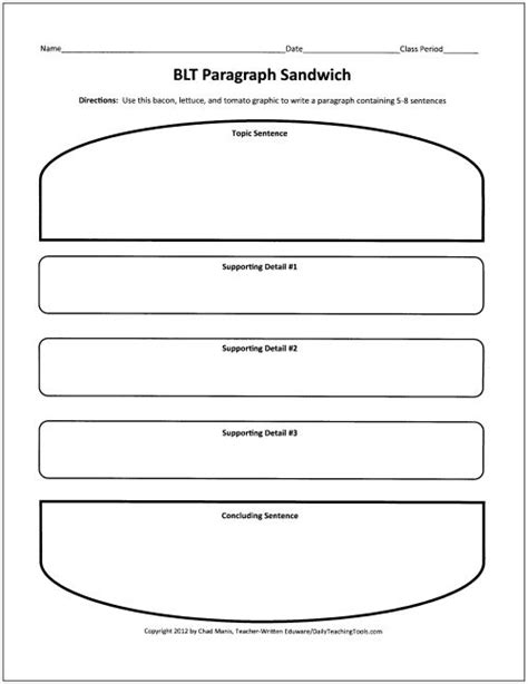 sandwich template for writing sandwich template for writing 61 best graphic