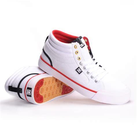 dc evan smith high top white mens skate shoes 11