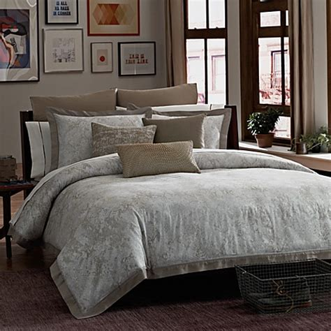 kenneth cole bedding kenneth cole reaction home python comforter bed bath