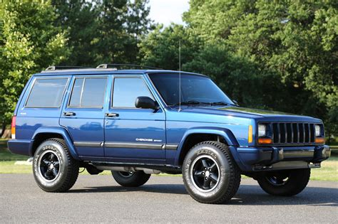 sports jeep cherokee daily turismo blue thursday 2000 jeep cherokee sport xj