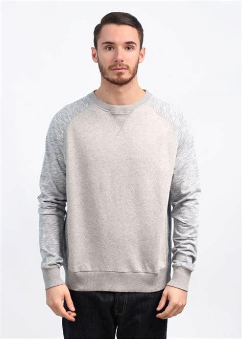 Zipper Reglan Navy Grey wolsey raglan sweatshirt grey navy