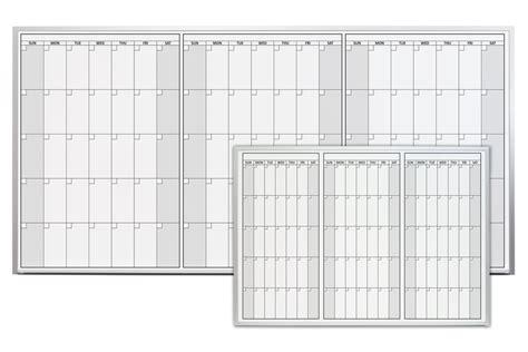 Magnetic Erase Calendar Magnetic Three Month Erase Calendar
