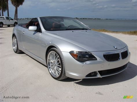 2006 Bmw 650i For Sale by 2006 Bmw 6 Series 650i Convertible In Titanium Silver