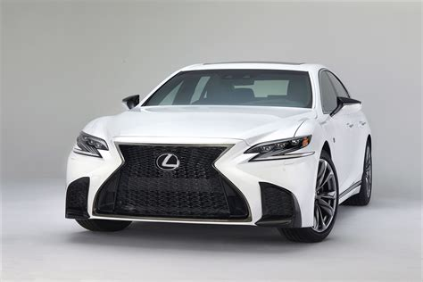 isf lexus 2018 2018 lexus ls 500 f sport adds giddy up to posh flagship