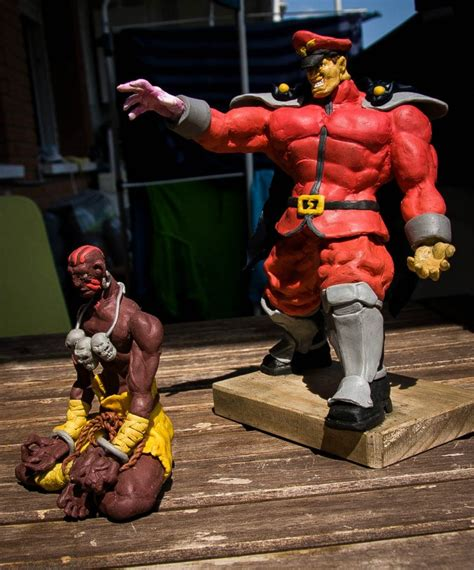 m bison figure m bison figure fighter by wulf7 on deviantart