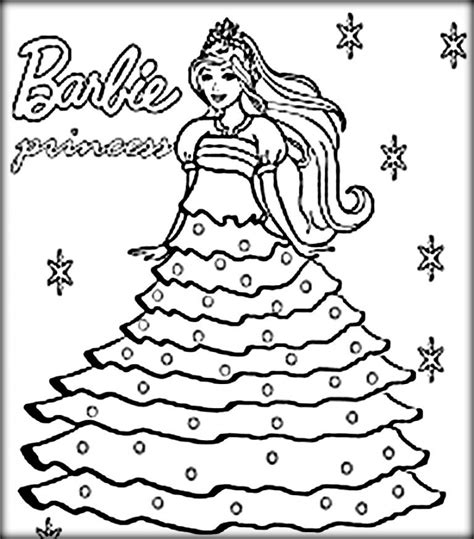 Get This Free Printable Barbie Coloring Pages For Kids 5gzkd Free Printable For