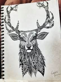 stag designs stag zentangle design by telferzentangle on etsy hdhx