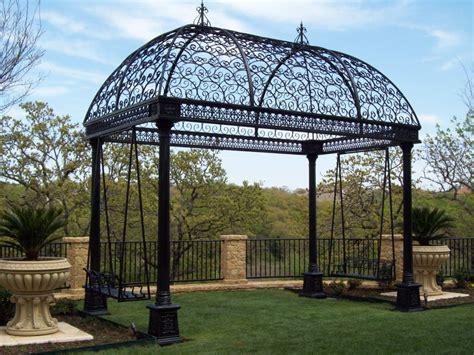 Iron Gazebo Luxury Gazebos Are Created Especially For Your Comfort