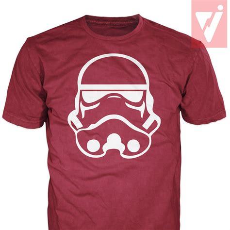 Kaos Tshirt Wars Stromtrooper Mask 1 stormtrooper helmet wars silhouette t shirt t shirt s m l xl ebay
