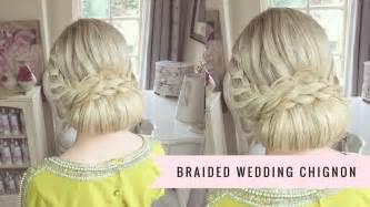 hair design maker braided wedding chignon by sweethearts hair youtube