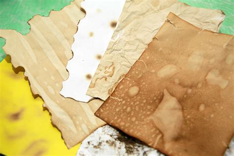 How To Make Paper With Coffee - 8 ways to make paper look wikihow