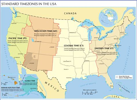map of usa showing states and timezones us map time zones with cities www proteckmachinery