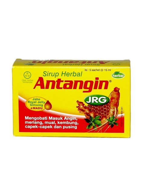 Sirup Herbal Antangin Jrg Cair antangin jrg obat masuk angin sirup box 5x15ml