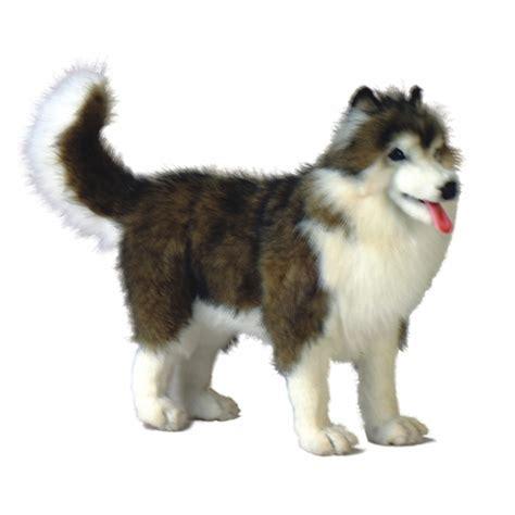 husky puppy stuffed animal handcrafted 16 inch lifelike husky stuffed animal by hansa