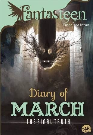 buku fantasteen diary of march the fransisca intan mizanstore
