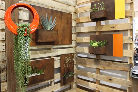 dwell on design landscape idea 2 modern wall planters and outdoor furniture mid century