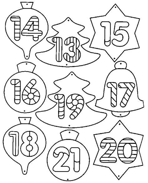 Calendrier 0 Colorier Coloriage Calendriers De L Avent 2 224 Colorier Allofamille