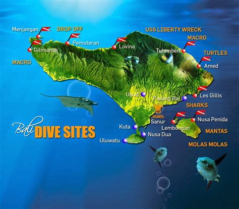dive site bali is the last paradise