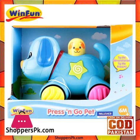 Winfun Press N Go Pets Puppy buy winfun press n go pet puppy 733 at best price in pakistan