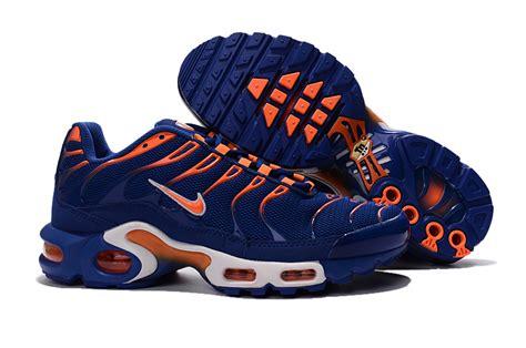 nike plus sneakers mens nike air max plus tn indigo orange running shoes