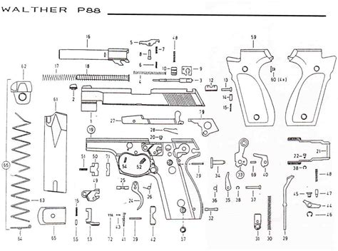 walther p22 parts diagram walther p22 schematic related keywords walther p22