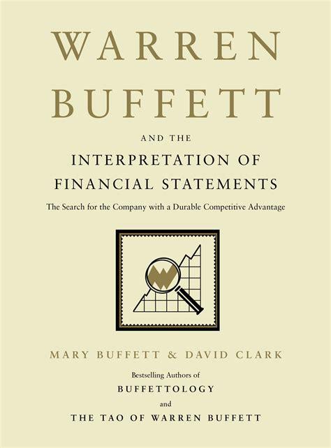 warren buffett and the interpretation of financial