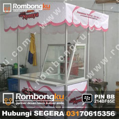 harga desain gerobak rombongku desain produksi gerobak unik gerobak
