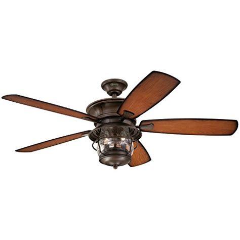 seeded glass ceiling fan 7800000 brentford indoor outdoor 52 inch five blade