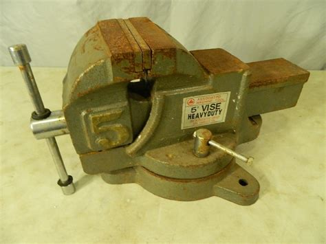 large bench vise large bench vise guitars tools collectibles furniture