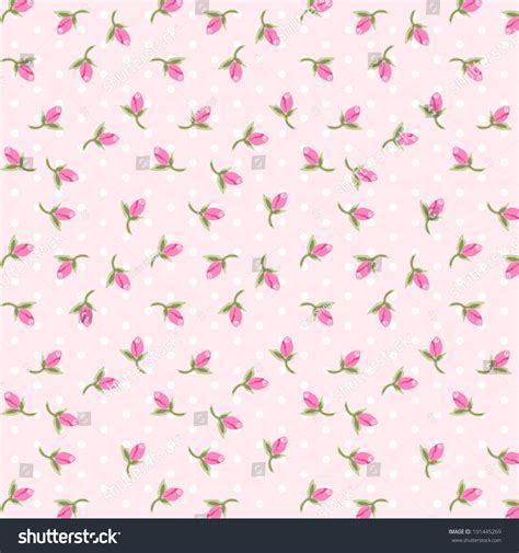 shabby chic patterns shabby chic pattern with tiny rosebuds stock vector