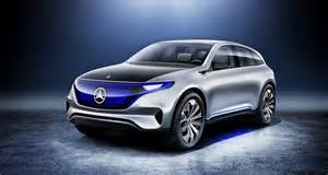 Mercedes Cers Mercedes Eq Show Car With Zero Emissions Into The