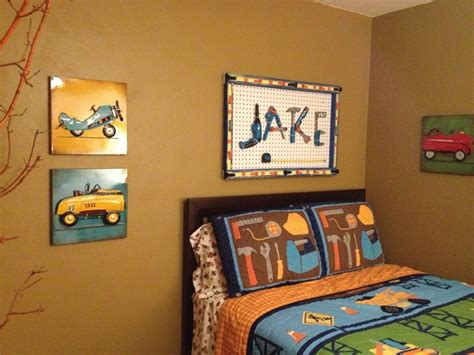 construction themed bedroom construction tool themed room for the home pinterest