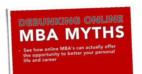 Strayer Mba Management by Debunking Mba Myths Strayer