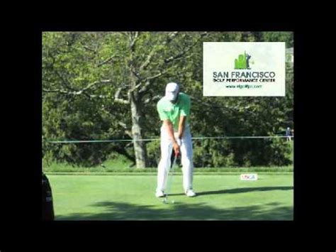 sergio garcia iron swing swing vision sergio garcia 2009 1wd slow motion by carl
