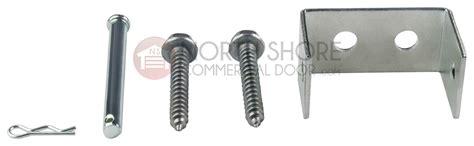 garage door opener hardware header bracket repair parts kit for genie and overhead