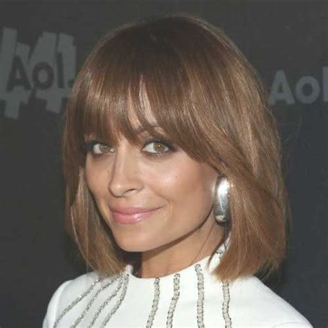 meduim length bobs with fringe 20 best dark bob hairstyles short hairstyles 2017 2018