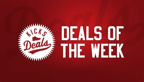 Deal Of The Week 20 At Max And by Kicks Deals Lists 20 Best Deals Still Available From Last