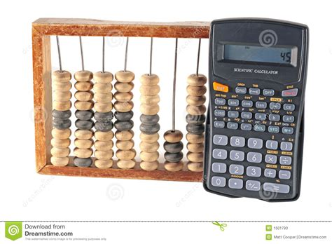 Kitchen Design Elements abacus and calculator stock photos image 1501793