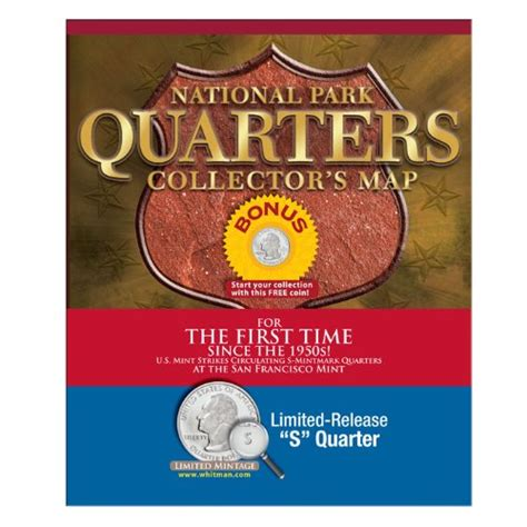 national park quarters collector map 2010 to 2021 includes a bonus san francisco s minted coin books national park quarters collector map 2010 to 2021