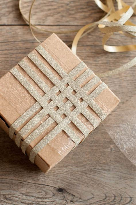 Gold Craft Paper - diy gift wrapping stellabegonias