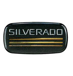 cab emblem chevrolet silverado classic chevy truck parts