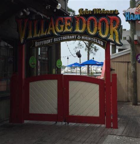 deck view picture of the door destin