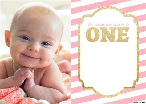 free printable 1st birthday invitations template drevio