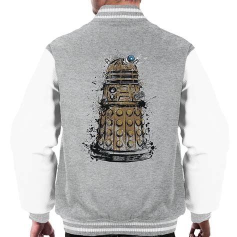 roeien mannen 8 doctor who dalek roeien mannen varsity jacket fruugo