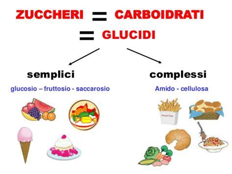 zuccheri alimenti carboidrati le parole dell alimentazione