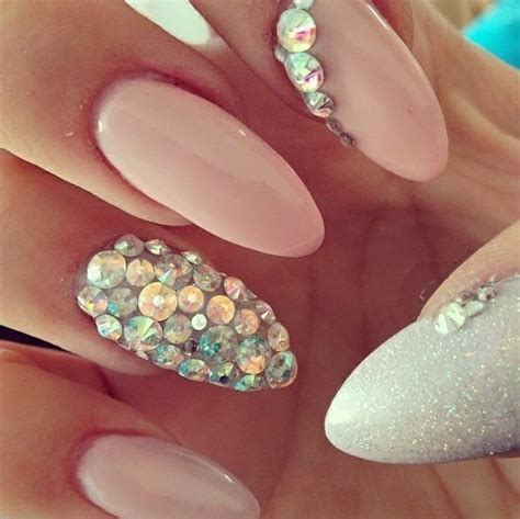 Light Pink Nail Designhttp 9ailsside Blogspot Com Nail Side Light Nail Design